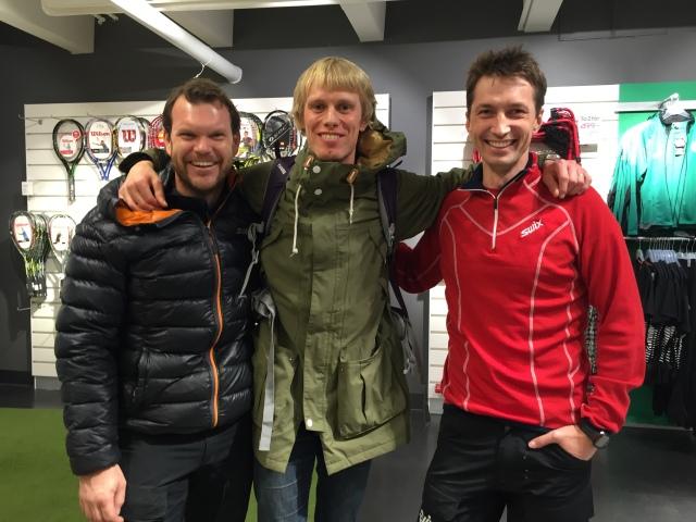 Thobias Fredriksson och Per Thunberg var med både i Svågertorp och Sisjön