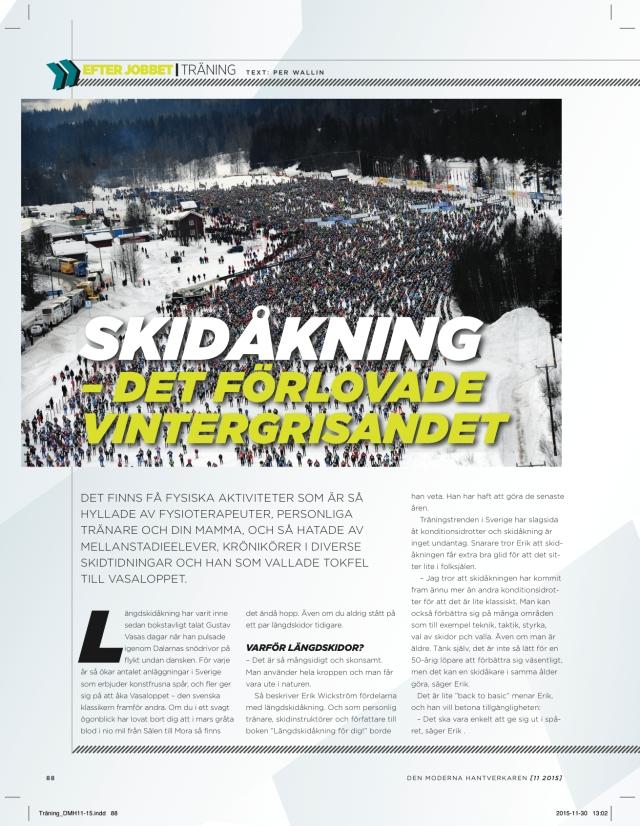 Den Moderna Hantverkaren decemner 2015, skidartikel sida 1 av 2