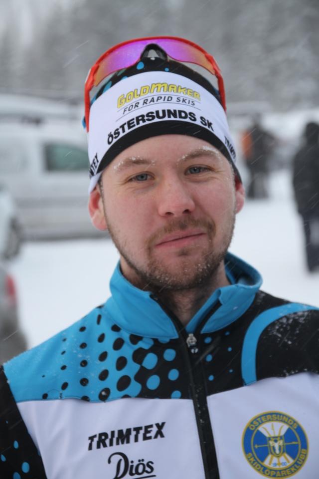 Patrik Tallbom efter Åre Swix Open 2015