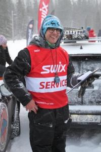 Gustaf Berglund, en av killarna som håller i trådarna för Åre Swix Open