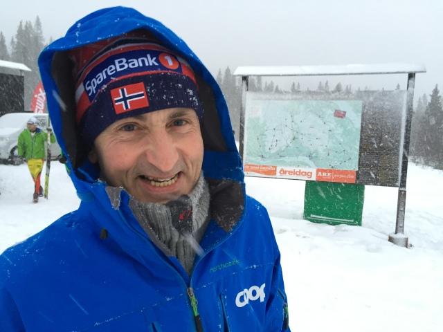 John Northug, pappa till Petter, Thomas och Even var på plats vid Åre Swix Open 2015