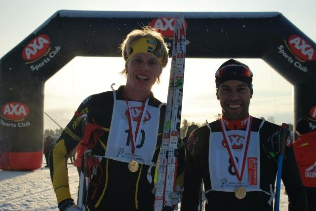 Bloggkollegan Adam Steen stakade bra på sina skejtskidor i AXA Ski Marathon 2015 och blev stark 10:a, fem placeringar före mig. Foto: http://www.henriköijer.com