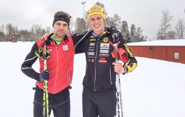 Se upp för Robert Malmgren i Västgötaloppet på söndag. Bilden är från Lassalyckan igår.