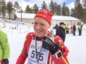 Håkan Degselius startade sajten skidsport.com. Han nämnde något jag skulle skriva efter loppet om varför det inte gick så bra, men det har jag glömt. Kanske fel kalsonger?