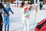 Daniel Tonell, en av många från IF Ski Team Skåne på plats