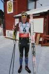 Efter målgång Västgötaloppet 2016
