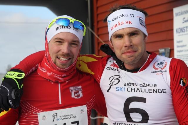 Robert Malmgren, som jag tidigare i veckan skrev upp på bloggen, blev bästa Borås SK:are efter att ha spurtat ned Daniel Abrahamsson. Jag tippade Robban 19:e, han blev 17:e.