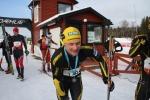Min skidgymnasiekompis Martin Henricsson, som blev uttagen till junior-VM när det begav sig, gjorde ett bra lopp.