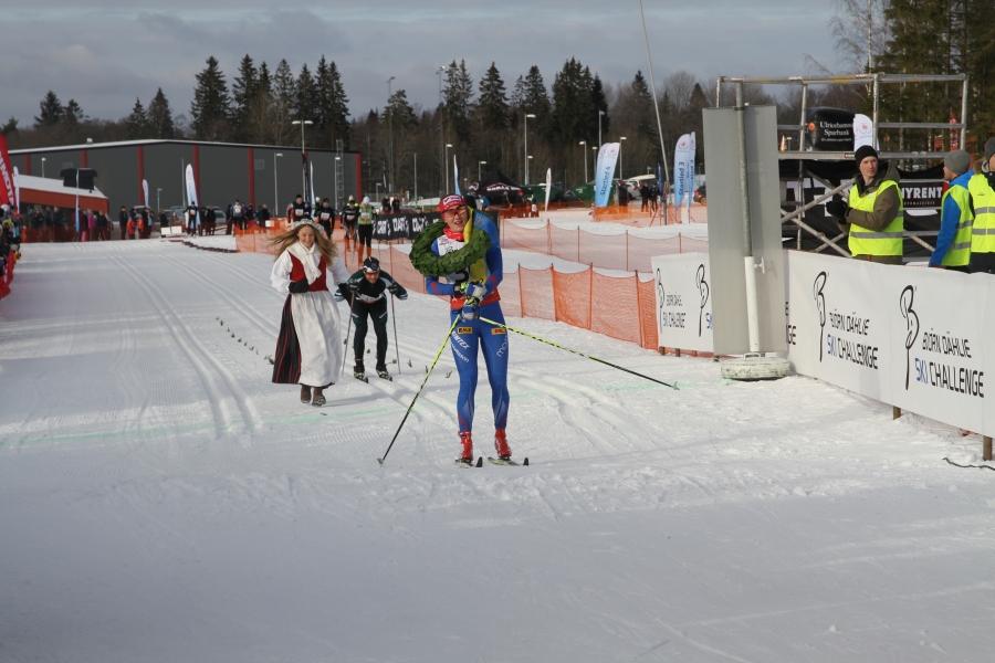 Helene Söderlund vann Västgötaloppet 2016