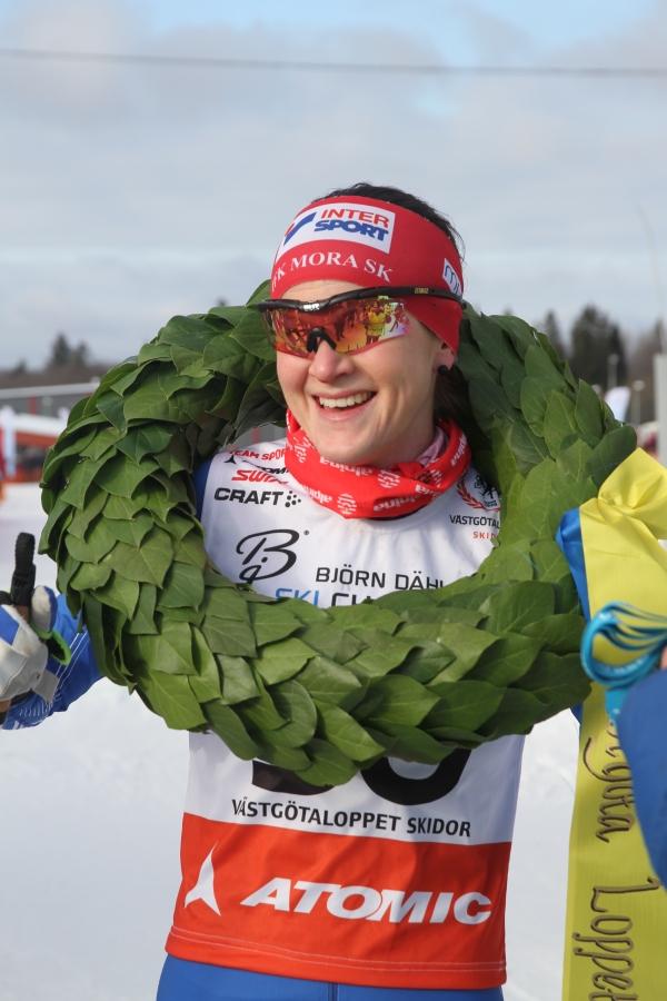 Helene Söderlund har tidigare åkt Tour de Ski