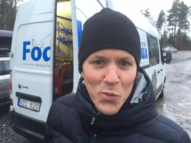 Gustaf Ljungberg stakar i morgon