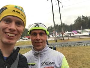 Fredrik Andersson från CCC1000 var också med och kämpade i Wadköpingsloppet 2016