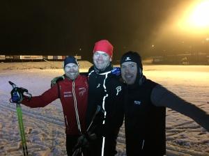 Tre goa gubbar från Götlaborg hade bokat den sista timmen i onsdags