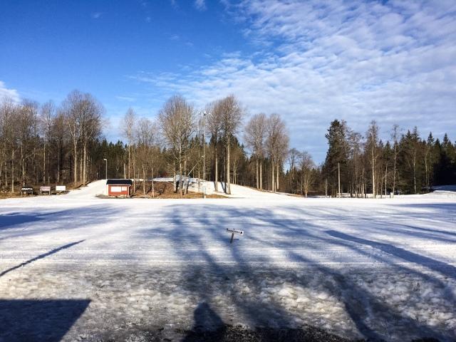 Borås skidstadion 22 mars 2016