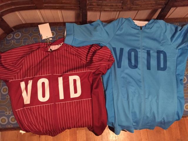VOID cykeltröjor 2016.