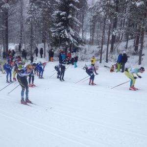 Första backen i Vasaloppet 2016. Foto: Jonas Eilertsen
