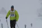 Snöigt på startrakan i Berga By