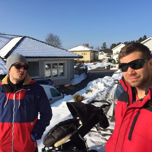 Erik Thiberg och Robert Malmgren