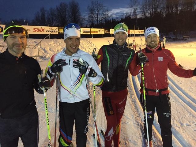 """Jörgen """"Idde"""" Håkansson, Rickard Bergengren, Magnus Sjöbjär, Daniel Abrahamsson"""