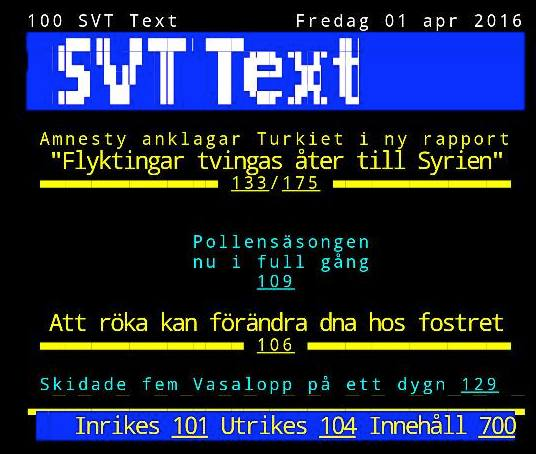 Text-TV sida 100