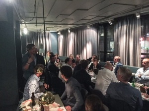 CCC1000-middag på Mornington Hotel i Bromma