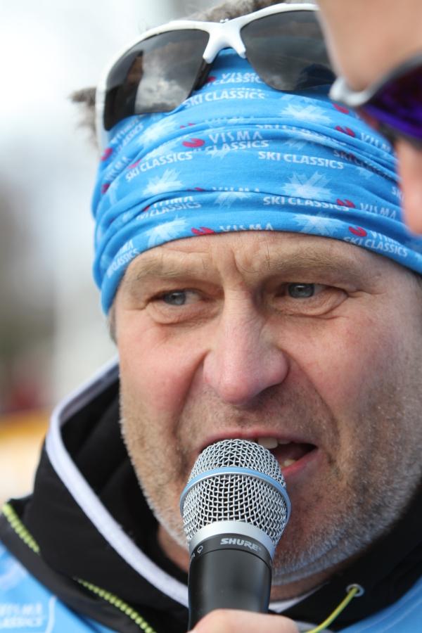 Kjell-Erik Kristiansen, grym speaker