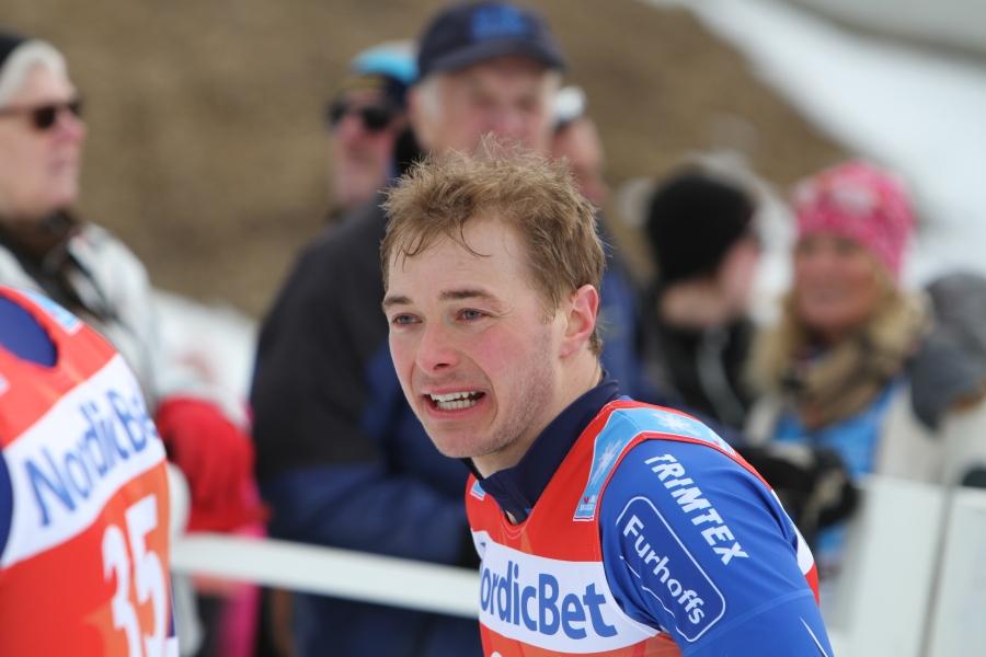 Axel Bergsten kunde inte riktigt upprepa sin finfina fjolårssäsong