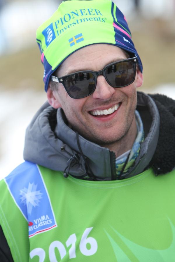 Gustaf Berglund var den första person jag intervjuade som skribent. Fredagsintervjun på skidsport.com hösten 2007.