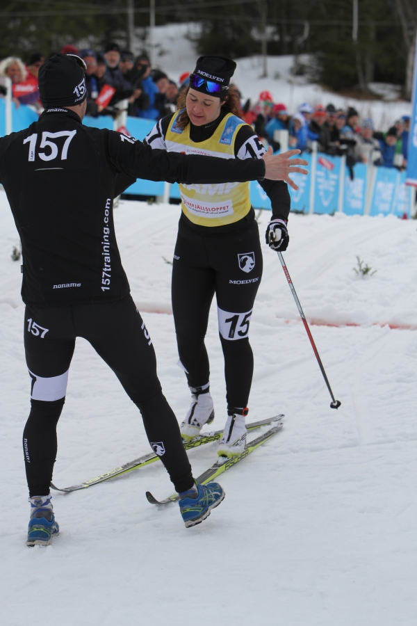 Britta Johansson Norgren hade det trögt i Årefjällsloppet, men vad gjorde väl det när hon vann totalen i Visma Ski Classics. Grattis!