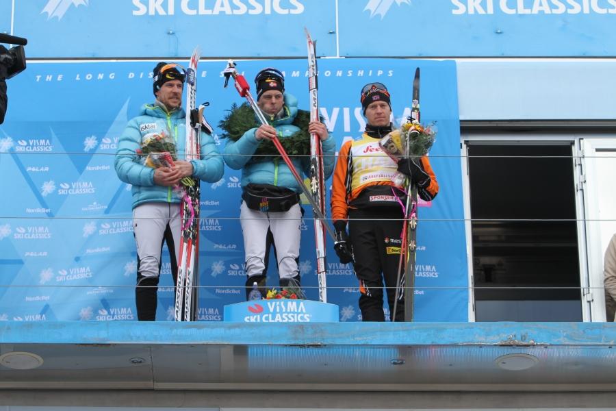 Herrpallen på Visma Ski Classics häftiga trailer