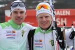 Robert Eriksson och Martin Damm. Boråsboende Martin åkte otrolig bra i vinter och blev 79:a i Vasan, en placering bättre än Z:s bästa placering.