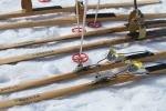 Gammalt lopp, gamla skidor