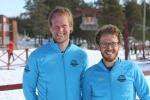 Niclas Bentzer och David Erixon från Team Deluxturer dagen innan loppet