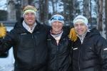 Trio från CCC1000, Fredrik Erixon, Matilda Tidlund och Ronnie Bodinger