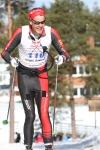 Jørgen Aukland kroknade sista milen i sitt sista lopp som proffs.