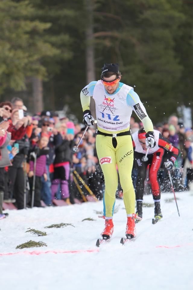 John Kristian Dahl vinner Nordenskiöldsloppet 2016
