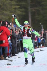 Lina Korsgren vinner Nordenskiöldsloppet 2016
