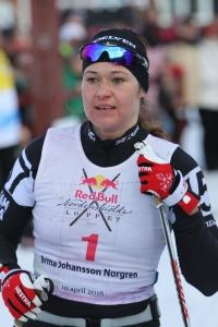 Britta Johansson Norgren fick spurtstryk
