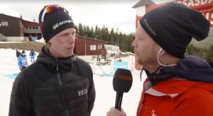 Intervju i TV4 Sport