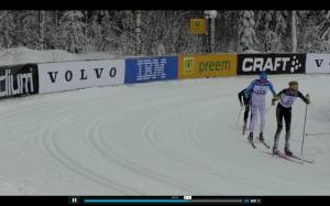 Här ligger jag precis före Daniel Richardsson och Patrik Johansson i Hökberg. De lyckades jag även hålla bakom mig i mål.