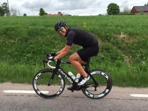 Borås Triathlons cykelsträcka är vacker