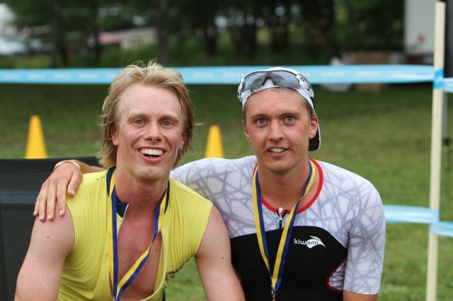 Jag och segraren Joel Evertsson