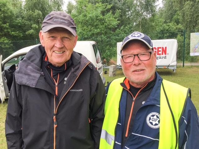Två go'a Borås GIF:are som varit med i skidsvängen sedan den gamla kungens tid