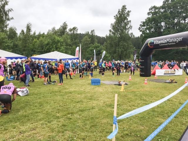 Målområde Borås Swimrun 2016
