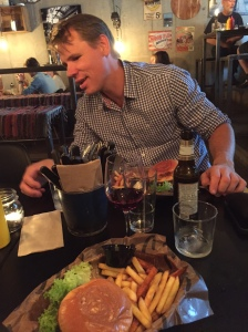 Mattias Carlzon på Tugg Burgers