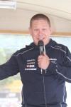Ludvig Remb på Svenska skidförbundet gjorde ett galant jobb som speaker