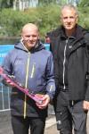 Elpex-Johan Öberg med sin kollega