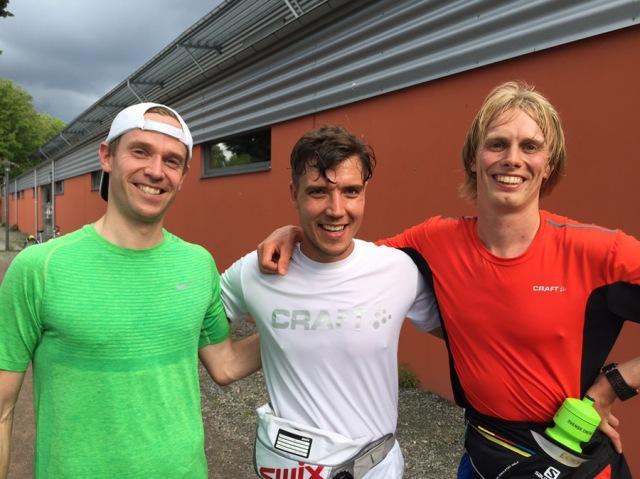 Marcus Granlund, Rickard Bergengren och jag