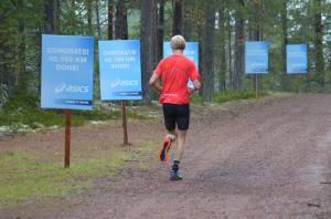 Maran passerades utmed Vasaloppsvägen i Evertsbergstrakten