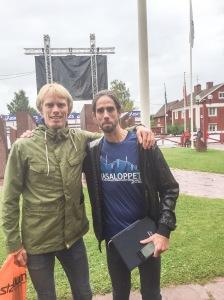 Löpargurun Anders Szalkai höll till i Dalarna i helgen. Kul att träffa honom IRL för första gången på länge.